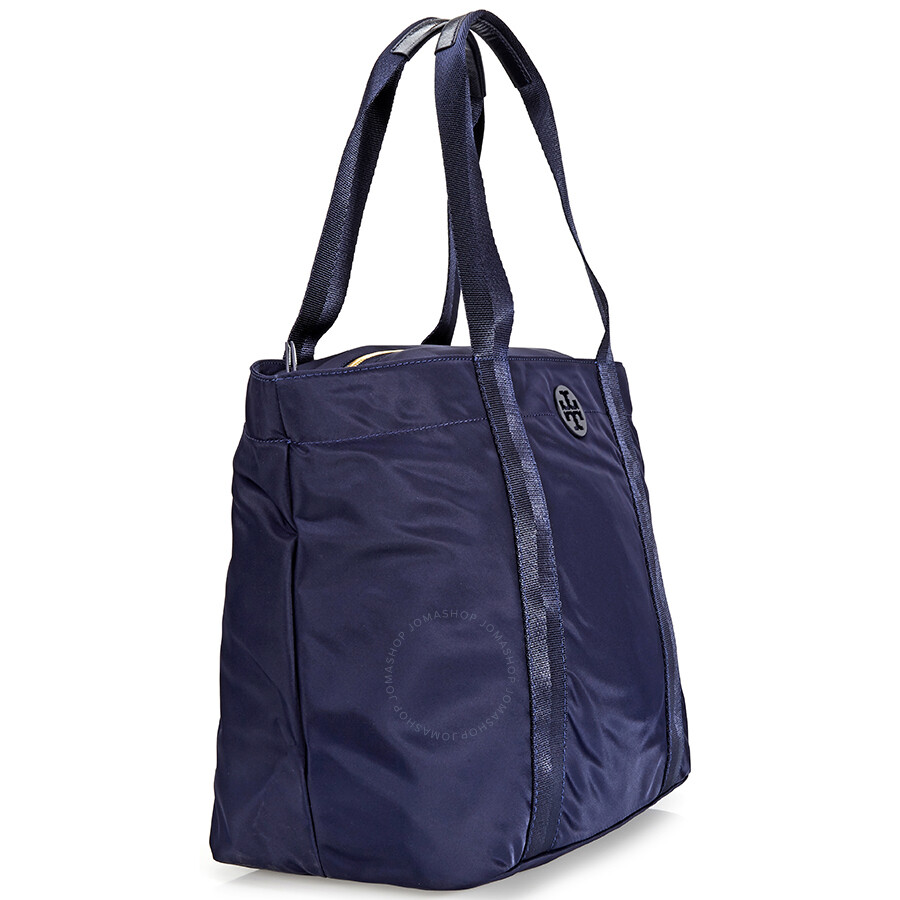 35ffeb823d70a Tory Quinn Large Tote - Navy - Tory Burch - Handbags - Jomashop