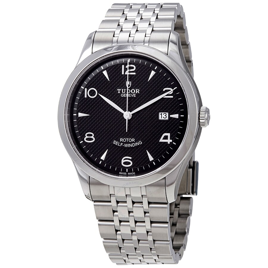 1926 Automatic Black Dial Men's Stainless Steel Watch by Tudor