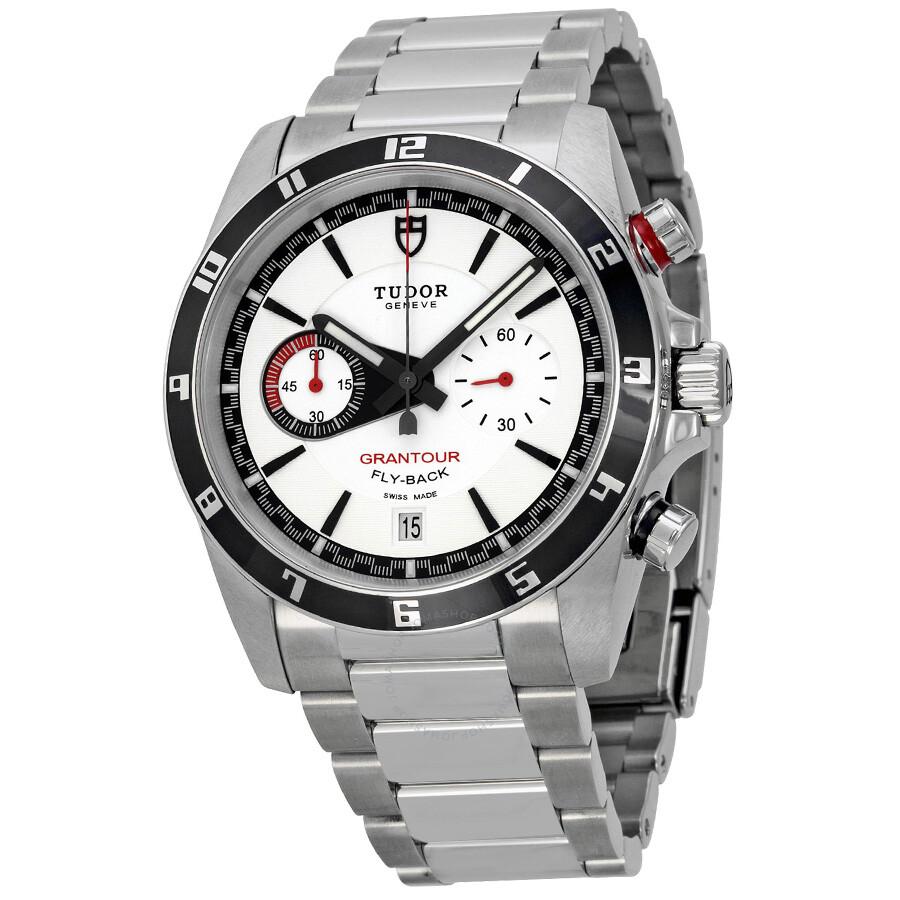 d536497710a Tudor Grantour Fly-back White Dial Men's Watch 20550N-WSS Item No.  20550N-95730