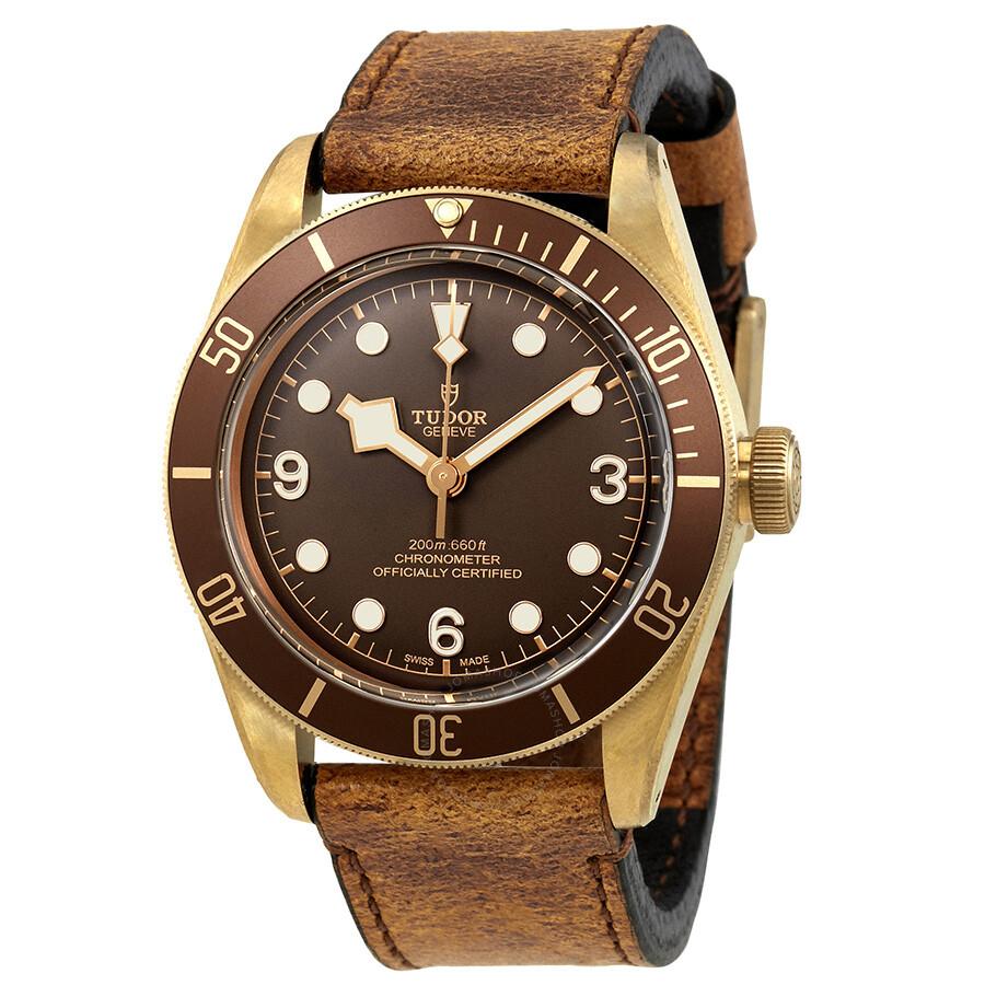 tudor heritage automatic bronze dial men s watch m79250bm 0001