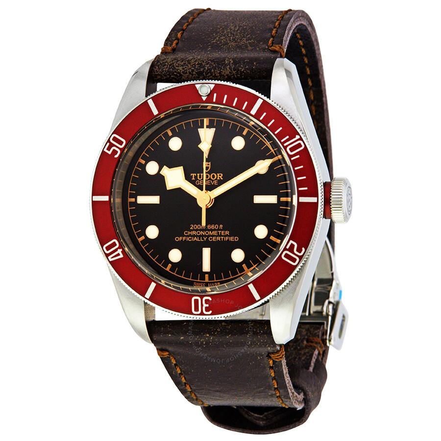 tudor heritage black bay automatic men 39 s watch 79230r bk burls heritage tudor watches. Black Bedroom Furniture Sets. Home Design Ideas