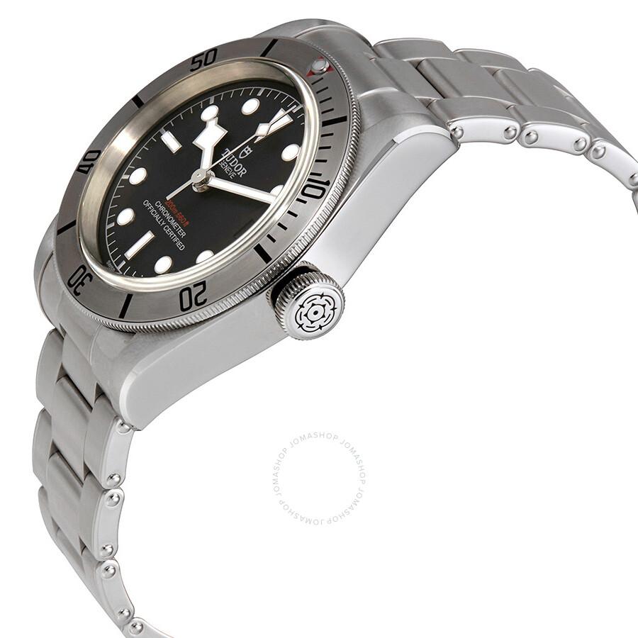 14827f9c118 ... Tudor Heritage Black Bay Chronometer Automatic Black Dial Men s Watch  M79730-0001 ...