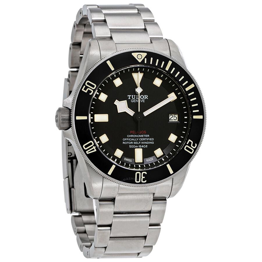 37c15477462d Tudor Pelagos LHD Automatic Black Dial Men s Watch -BKSTI