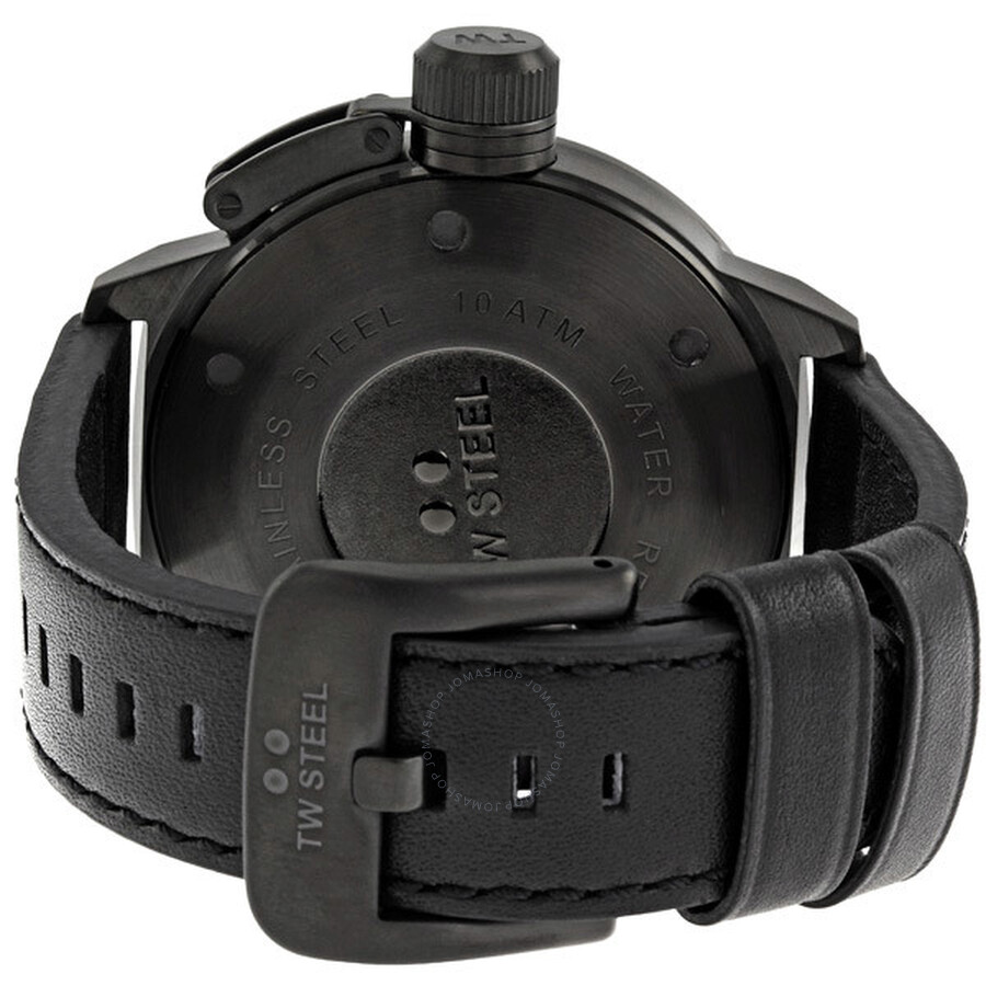 ea56ed5c039 TW Steel Canteen 50 MM Cool Black Quartz Men s Watch TW822 - Canteen ...