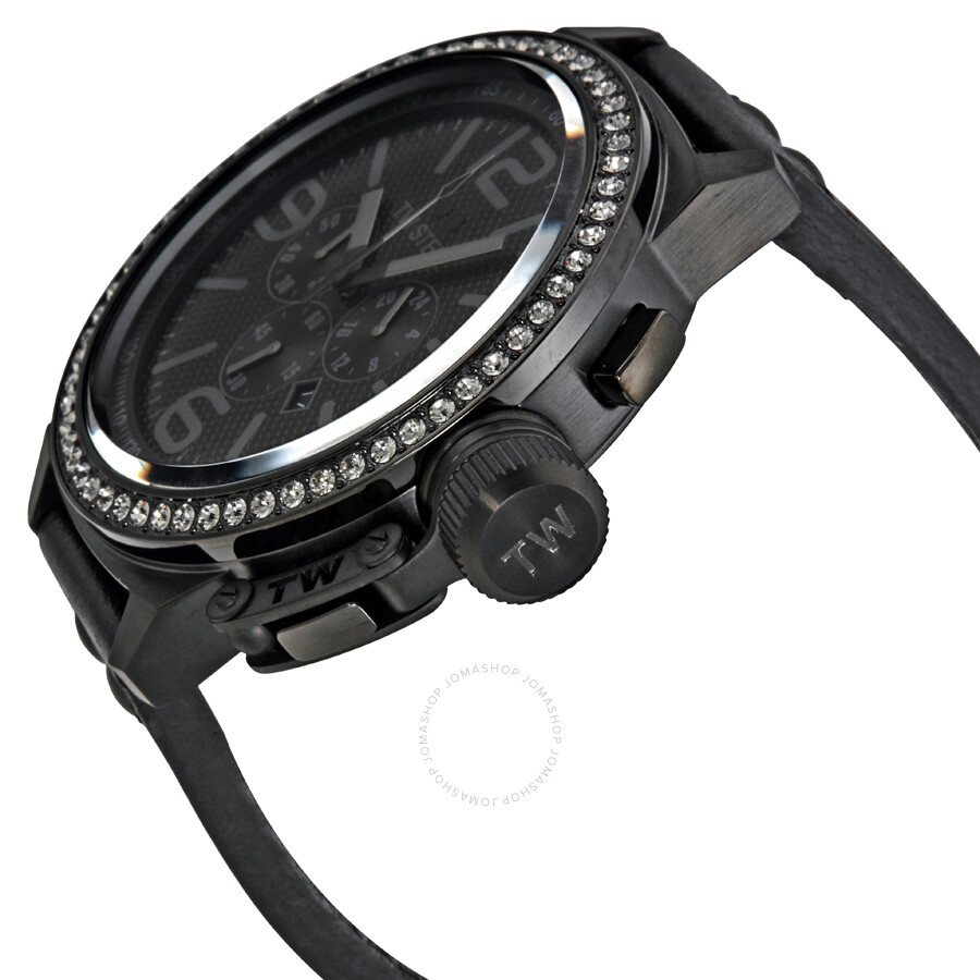 a3498caae14 ... TW Steel Canteen 50mm Chronograph Black Dial Men s Watch TW913 ...