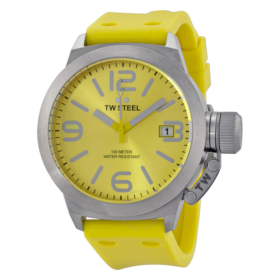 tw steel canteen yellow yellow silicone s