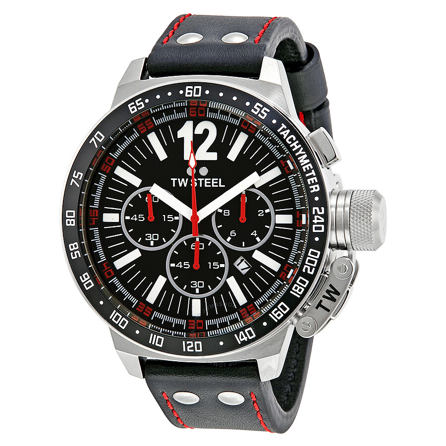 622568a35 TW Steel CEO Canteen Chronograph Black Dial Men's Watch CE1016R ...