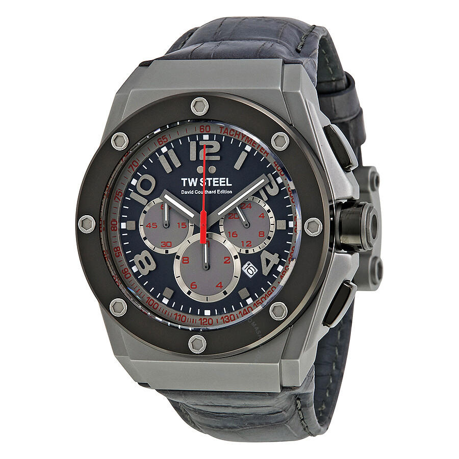 e247a47dc5b TW Steel CEO Tech David Coulthard Chronograph Grey PVD Watch CE4001 ...