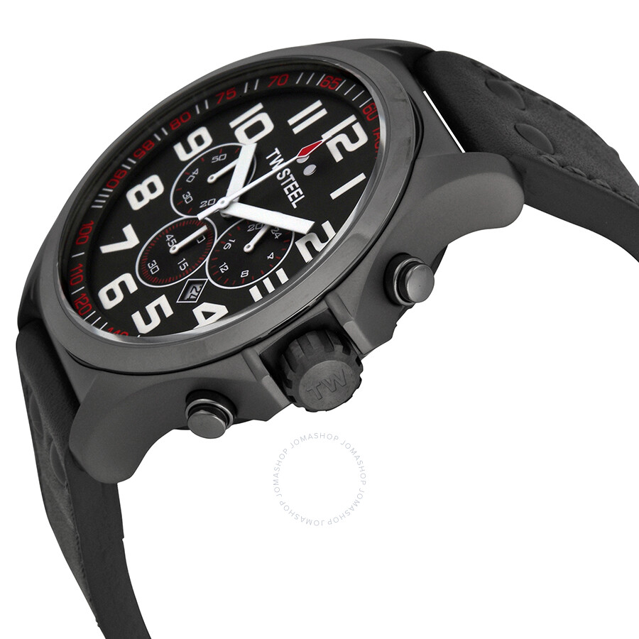 ... TW Steel Pilot Chronograph Titanium PVD Men's Watch TW422 ...