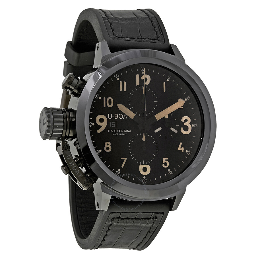 U-Boat Flightdeck Chronograph Automatic Men s Watch 7387 - U-Boat ... 653e144e1