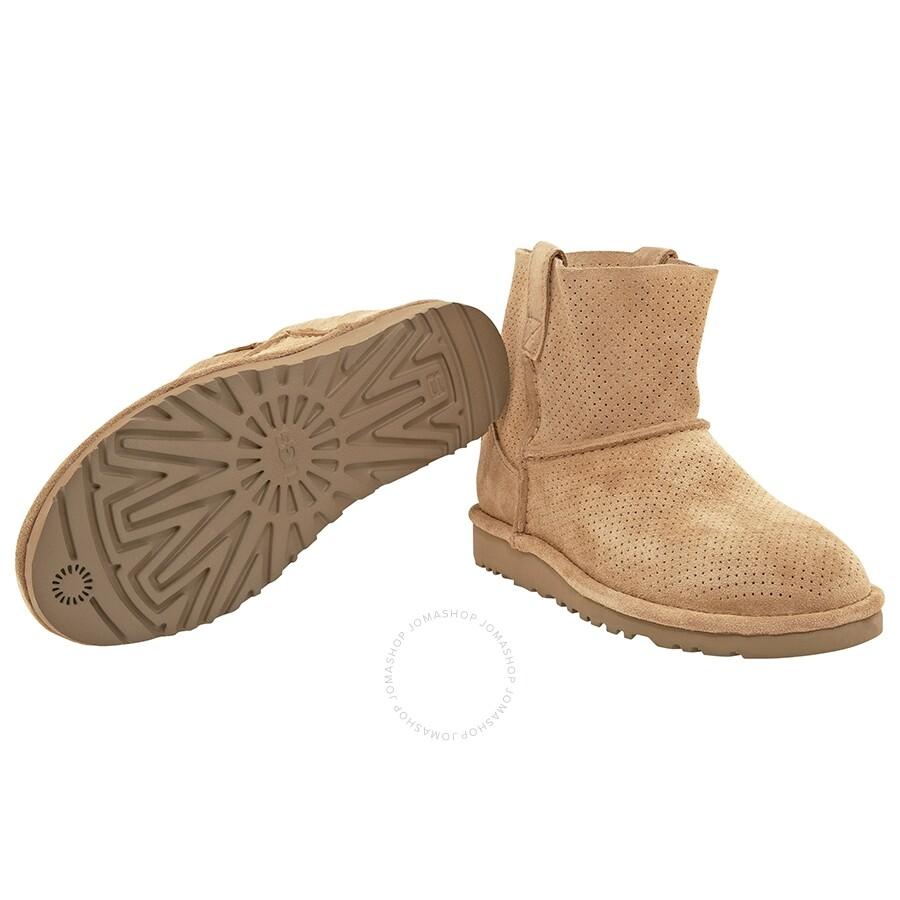 5abb8859a2a UGG Classic Unlined Mini Perf Boot