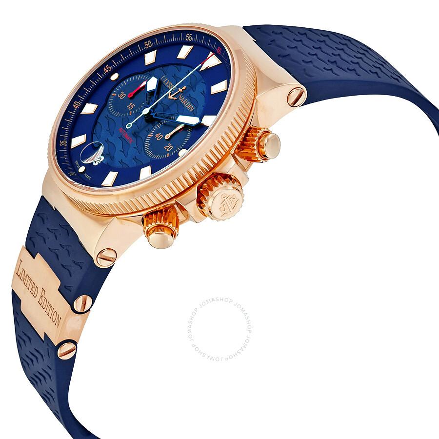 Часы ulysse таквыт blue