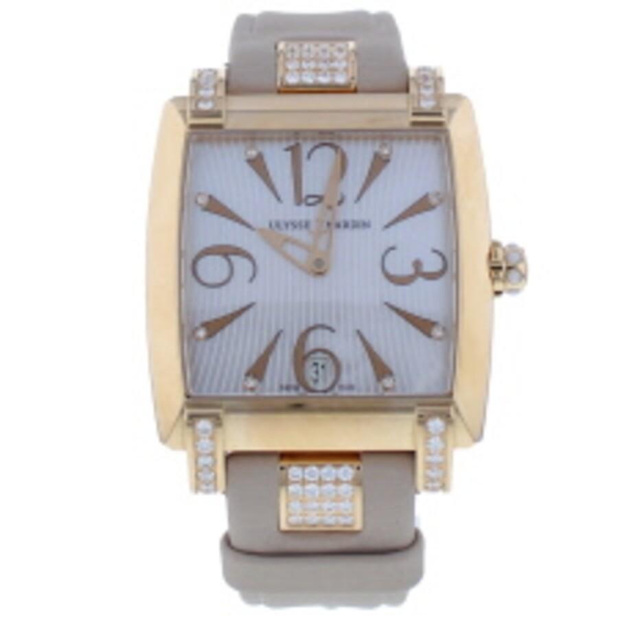 geeignet für Männer/Frauen neue Liste Outlet zu verkaufen Ulysse Nardin Caprice Automatic Ladies Watch 136-91/695