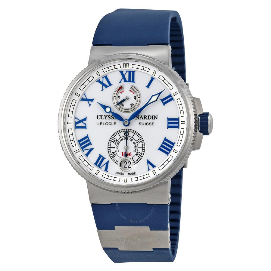e3cae57a629a Ulysse Nardin Marine Chronometer Automatic Men s Watch 1183-126-3-40 Item  No. 1183-126-3 40