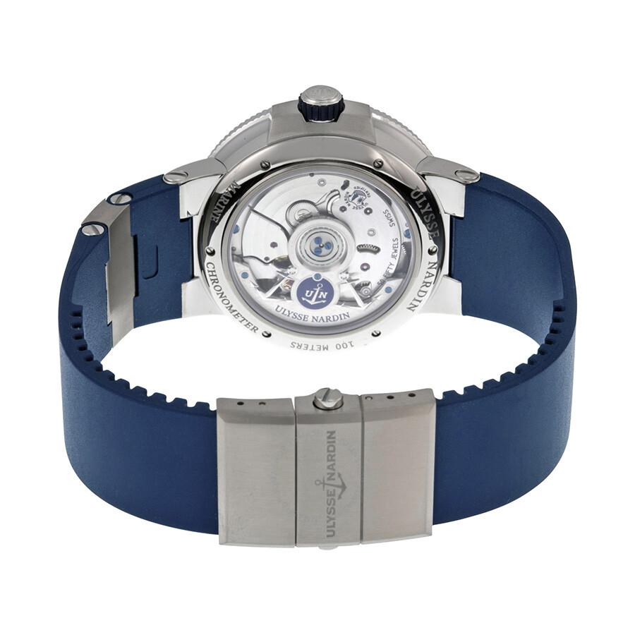 2b9c2fd75bfd Ulysse Nardin Marine Chronometer Automatic Men s Watch 1183-126-3-60 ...