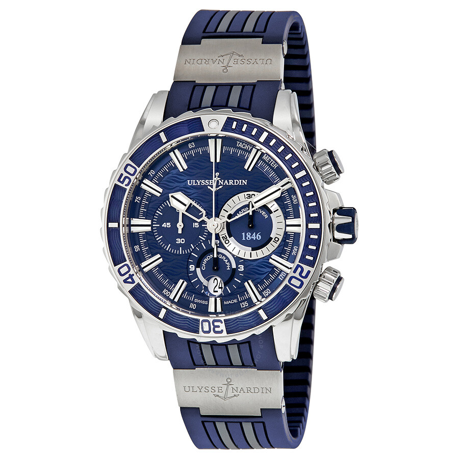 Ulysse Nardin Marine Diver Chronograph Automatic Men's ...