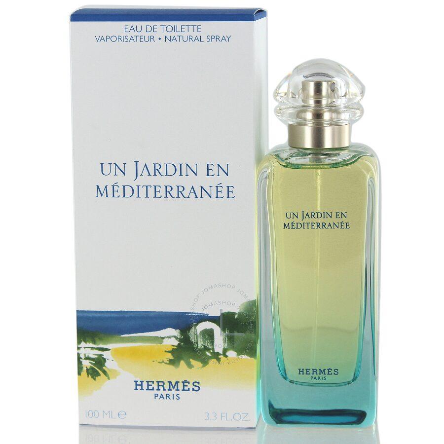Un jardin en mediterranee hermes edt spray 3 3 oz 100 ml for Jardin hermes
