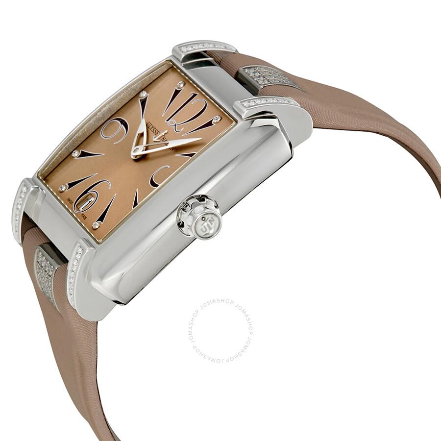 Qualitätsprodukte tolle sorten preisreduziert Ulysse Nardin Caprice Salmon Sunray Dial Automatic Ladies Watch  133-91C/06-05