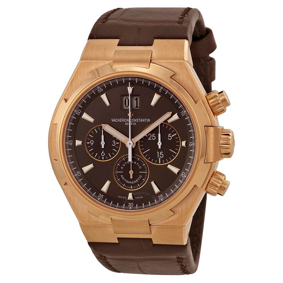 Vacheron constantin overseas brown dial chronograh men 39 s watch 49150000r 9338 overseas for Vacheron constantin