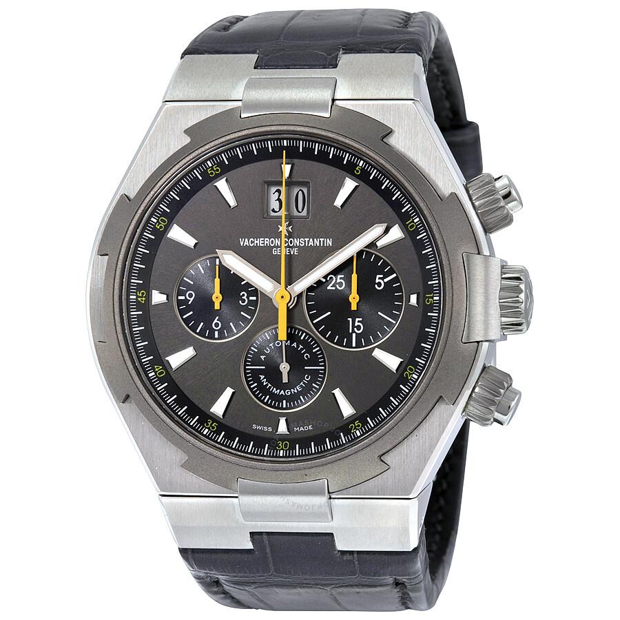 Vacheron constantin overseas chronograph automatic grey dial men 39 s watch 49150000w 9015 for Vacheron constantin