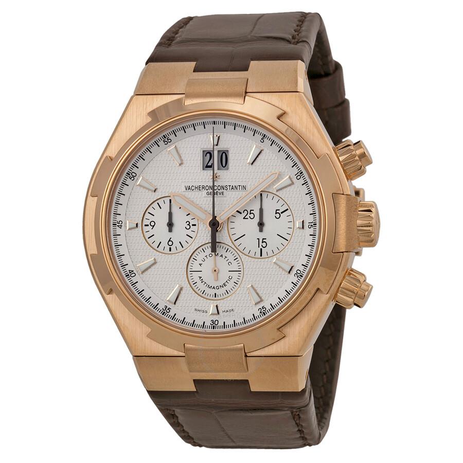 vacheron constantin overseas silver chronograph s