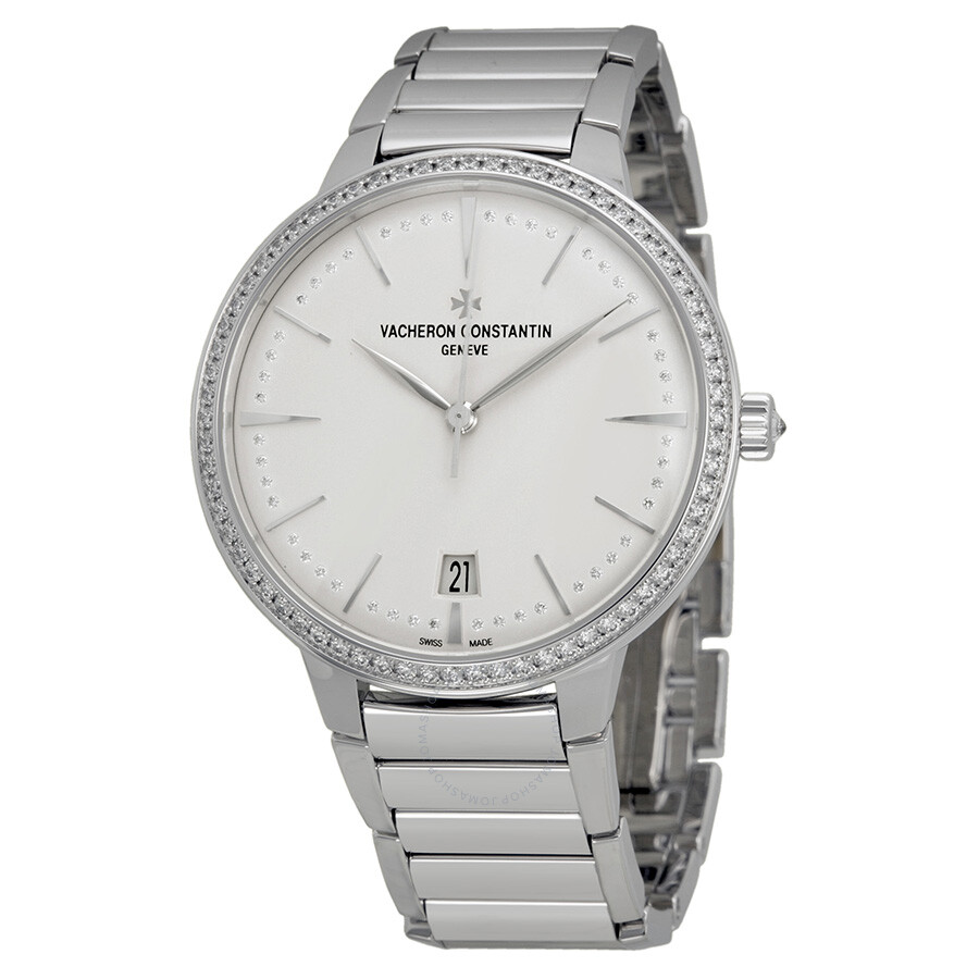 12743f1b818 Vacheron Constantin Patrimony Contemporaine Silver Dial White Gold Ladies  Watch 85515CA1G-9841 ...