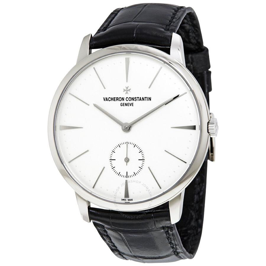 Vacheron constantin patrimony hand wind men 39 s watch 1110u 000g b086 patrimony vacheron for Vacheron constantin