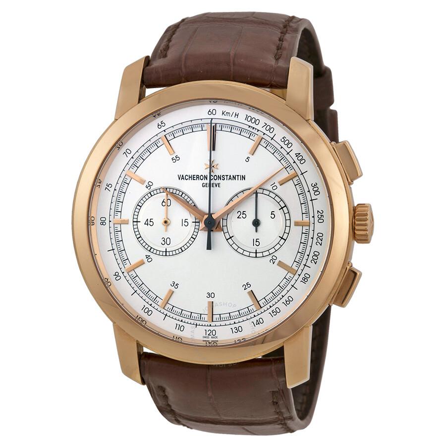 vacheron constantin traditionnelle silver chronograph