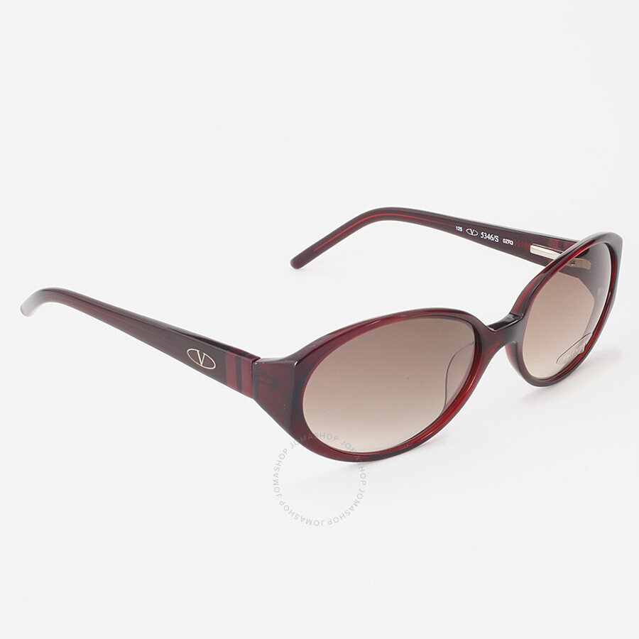 63964b8bae7 Valentino Brown Gradient Oval Sunglasses Valentino Brown Gradient Oval  Sunglasses ...