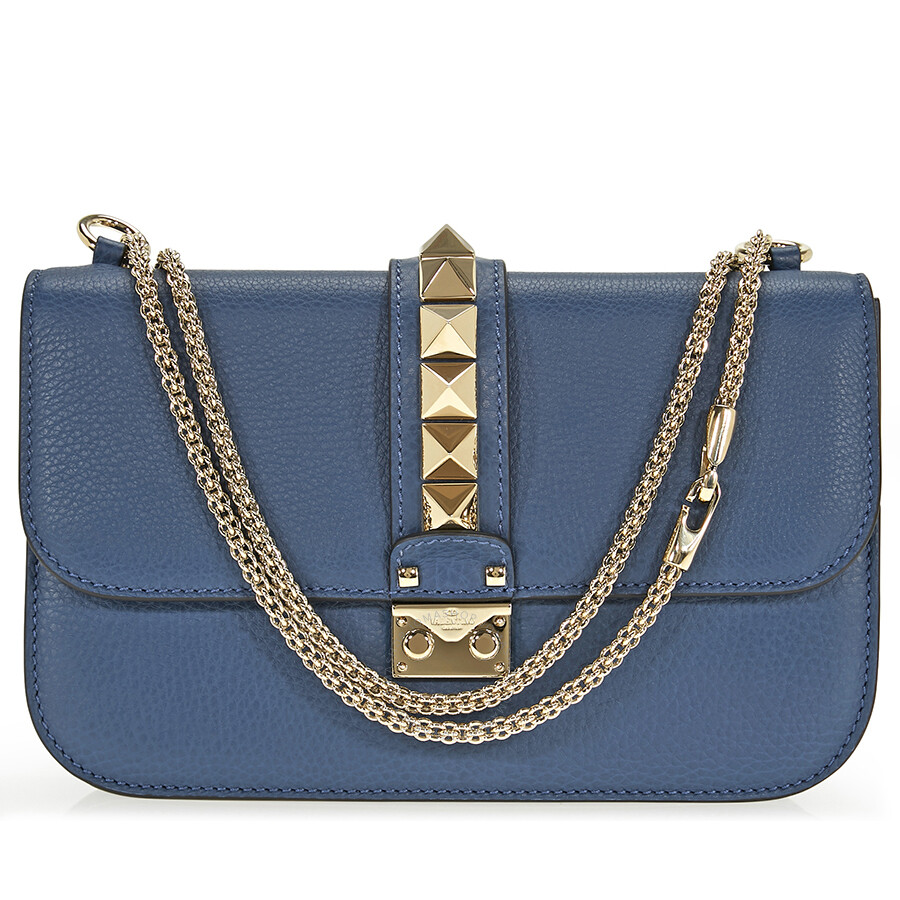 13b52252d4 Valentino Medium Shoulder Bag - Peacock Blue - Valentino - Handbags ...