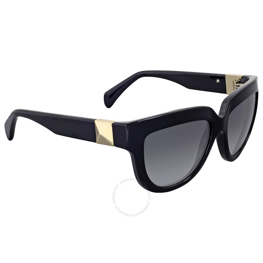 606cdf5a178d Valentino Rockstud Black Cat Eye Sunglasses Valentino Rockstud Black Cat  Eye Sunglasses ...