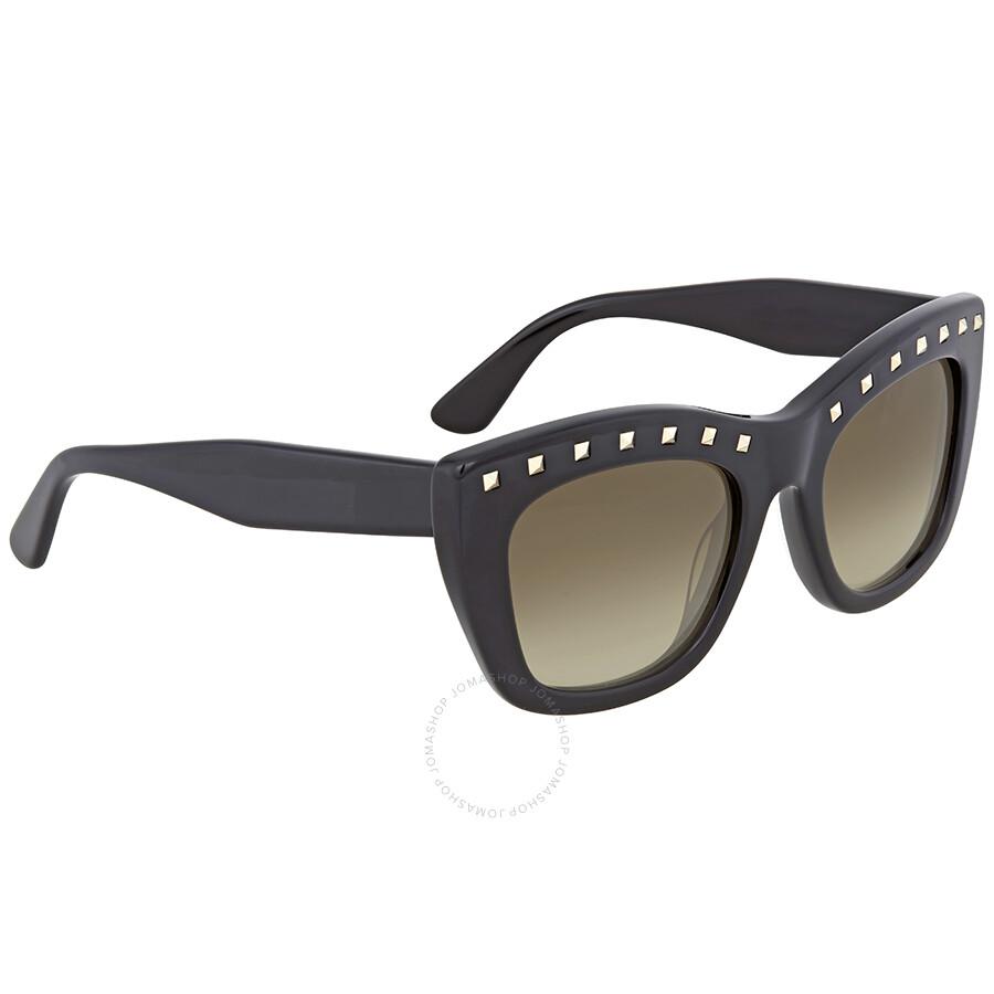 aa81275ca5b7 Valentino Rockstud Cat Eye Sunglasses Valentino Rockstud Cat Eye Sunglasses  ...