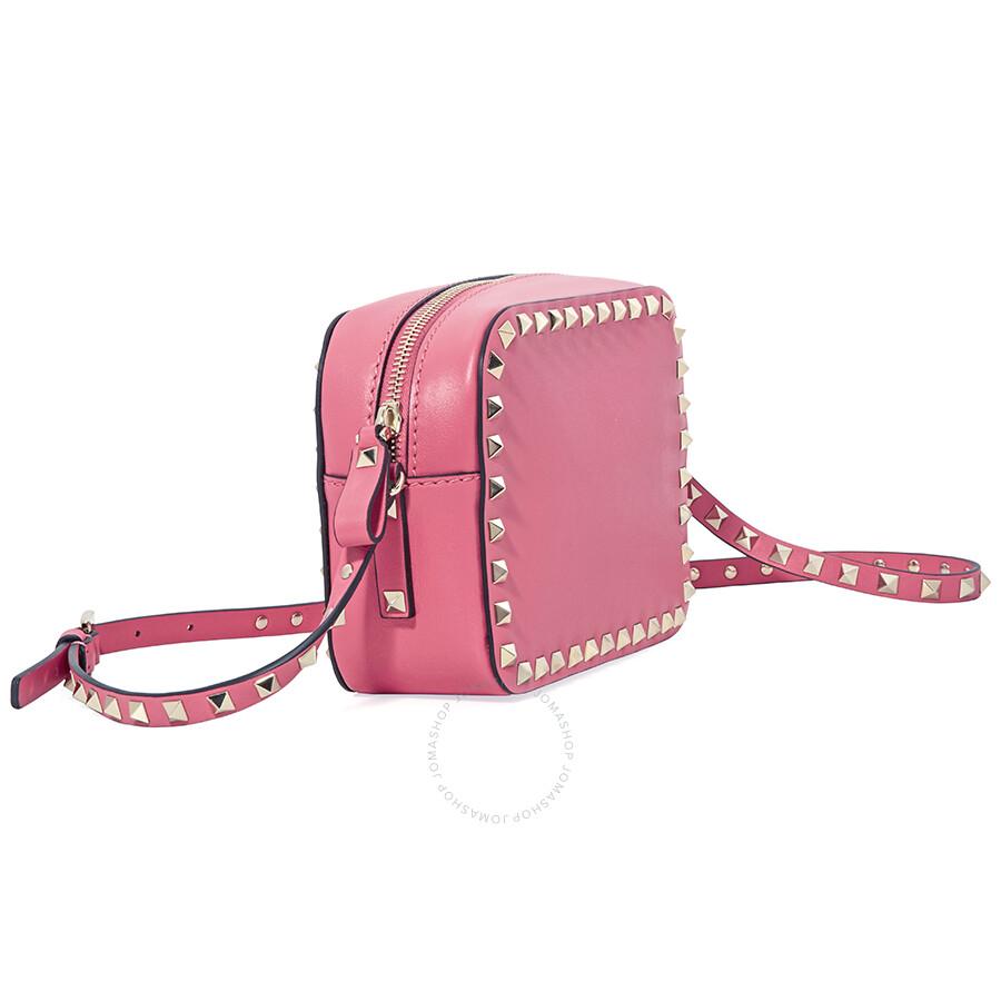 b544b0b97f3 Valentino Rockstud Crossbody- Rosa - Valentino - Handbags - Jomashop