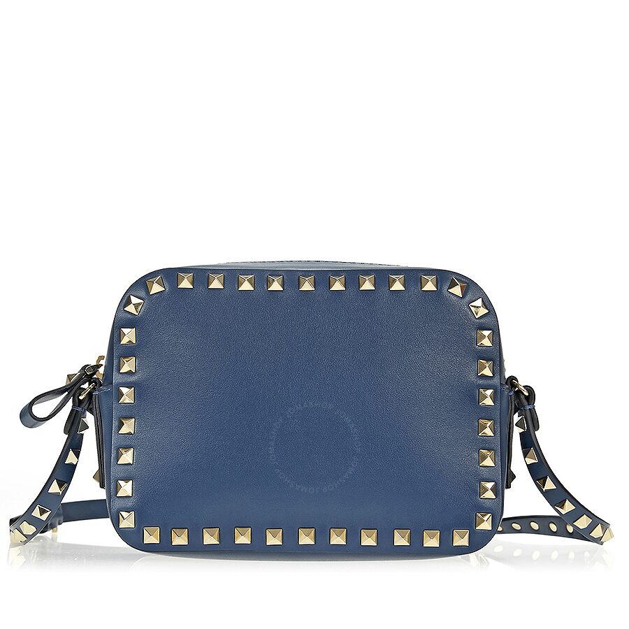 021beb986d Valentino Rockstud Crossbody Bag - Peacock Blue Item No. NW0B0809BOL 0BZ