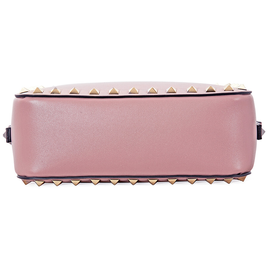 c16406bec0d Valentino Rockstud Crossbody Bag- Lipstick Pink - Valentino ...