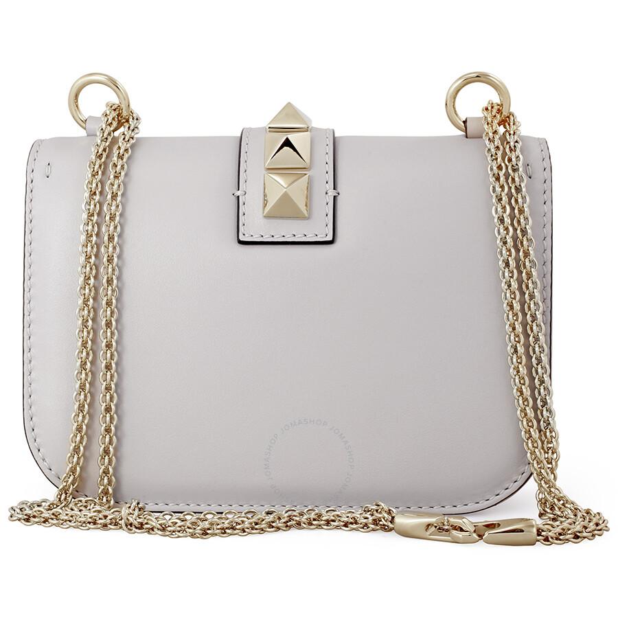 41a8c2fc2c4 Valentino Rockstud Lock Small Leather Shoulder Bag - Pastel ...