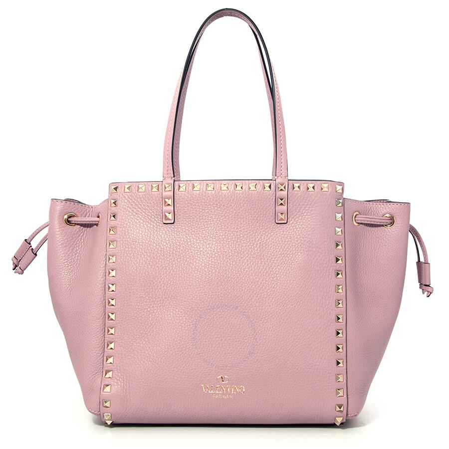 Valentino Rockstud Shoulder Bag Pink