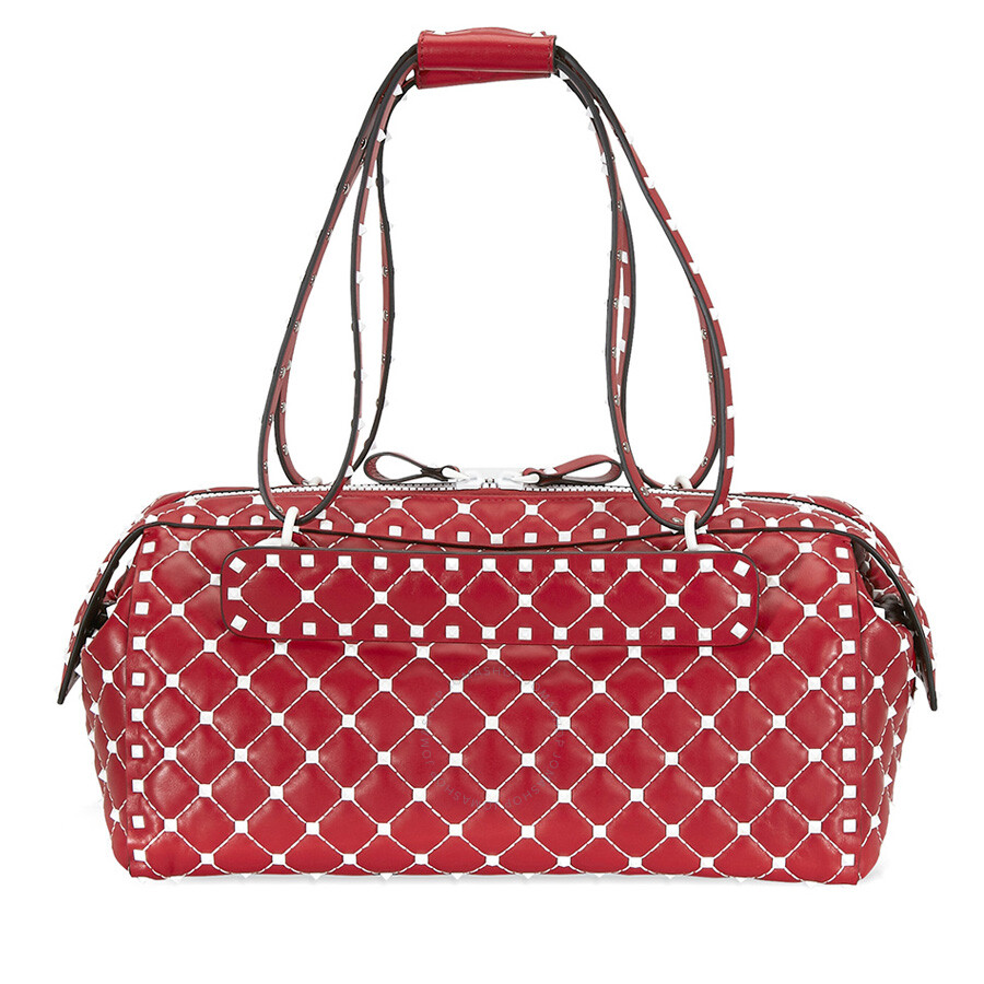 0a9fb4be6c53 Valentino rockstud spike duffle bag red valentino handbags jpg 900x900 Red  duffle bag