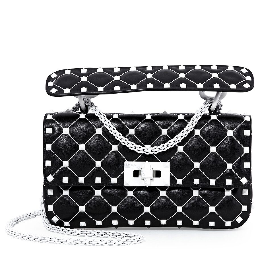 b5f208d031c Valentino Handbag Black And White - Best Handbag In 2018