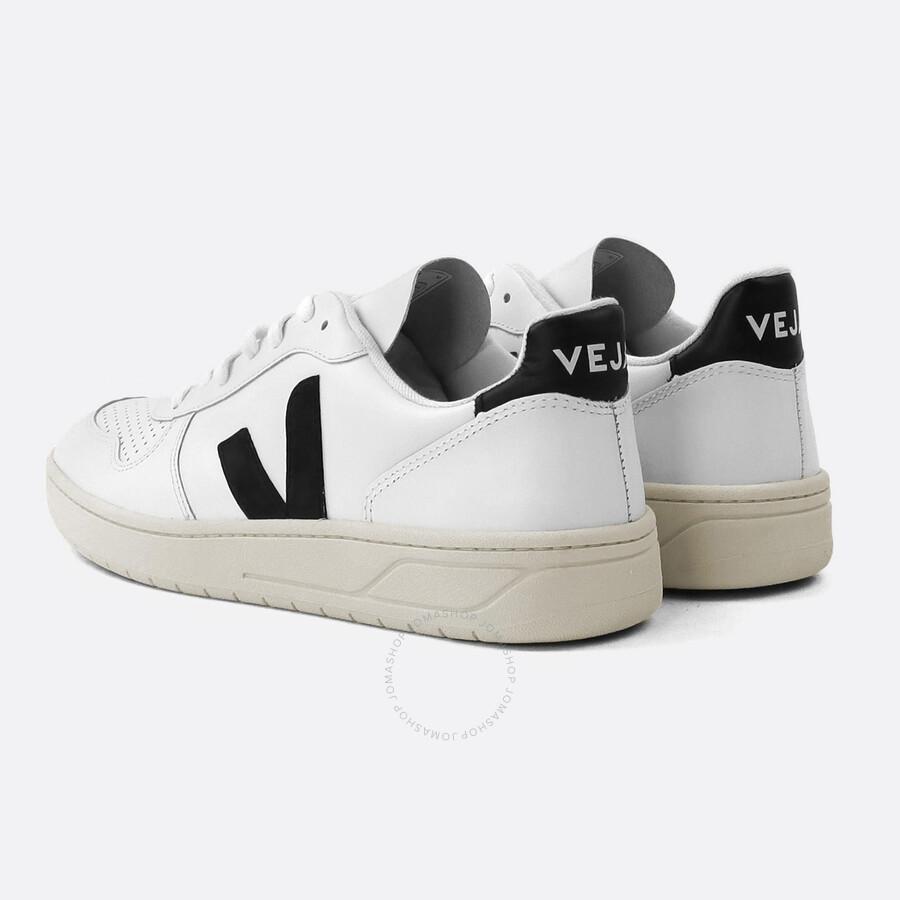 Veja Men's V10 Leather Sneaker, Brand