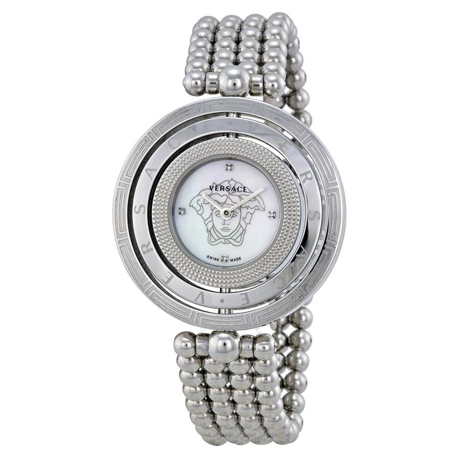 versace eon of pearl stainless steel