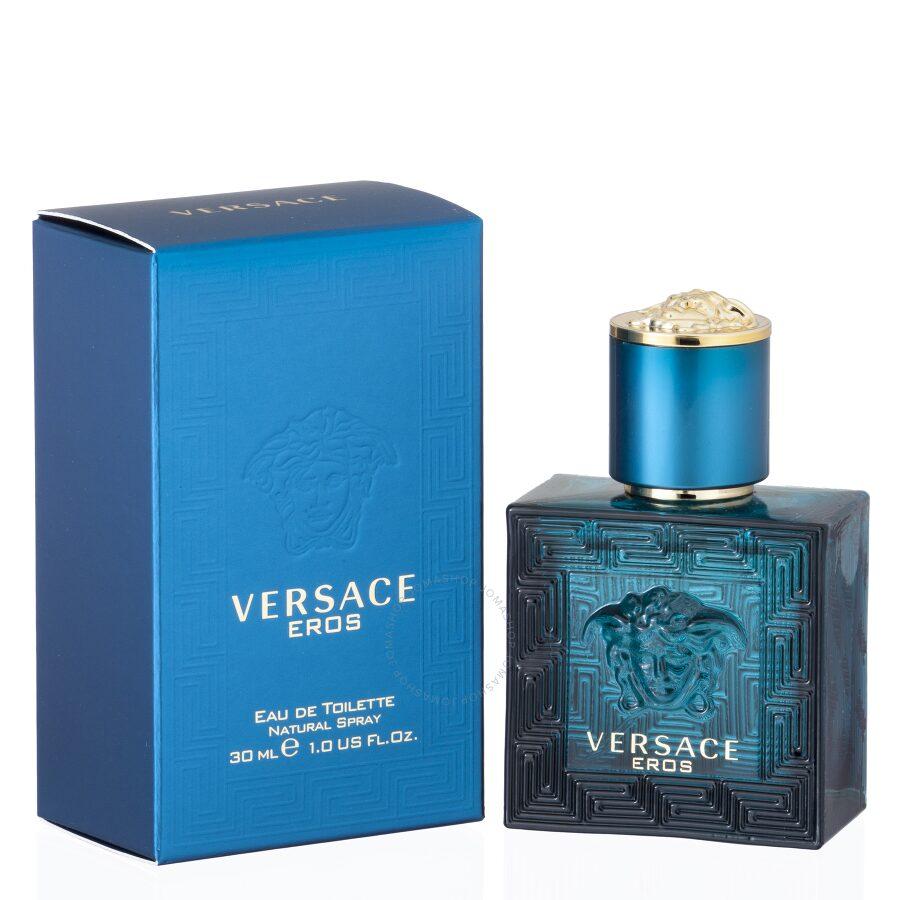 f24b9ea0538e Versace Eros by Versace EDT Spray 1.0 oz - Mens Eau de Toilette ...
