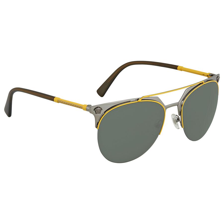 4d2a254d7c Versace Aviator Sunglasses VE2181 100171 57 - Versace - Sunglasses ...