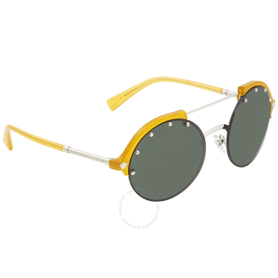 773c3485cf9e Versace Green Round Sunglasses VE4337 525271 53 Item No. VE4337 525271 53