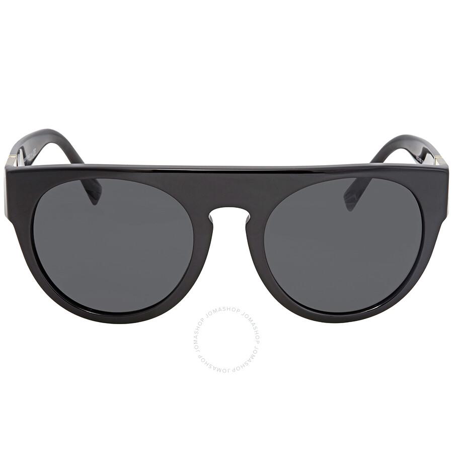 744edbe543fd Versace Grey Round Sunglasses VE4333 GB187 55 - Versace - Sunglasses ...