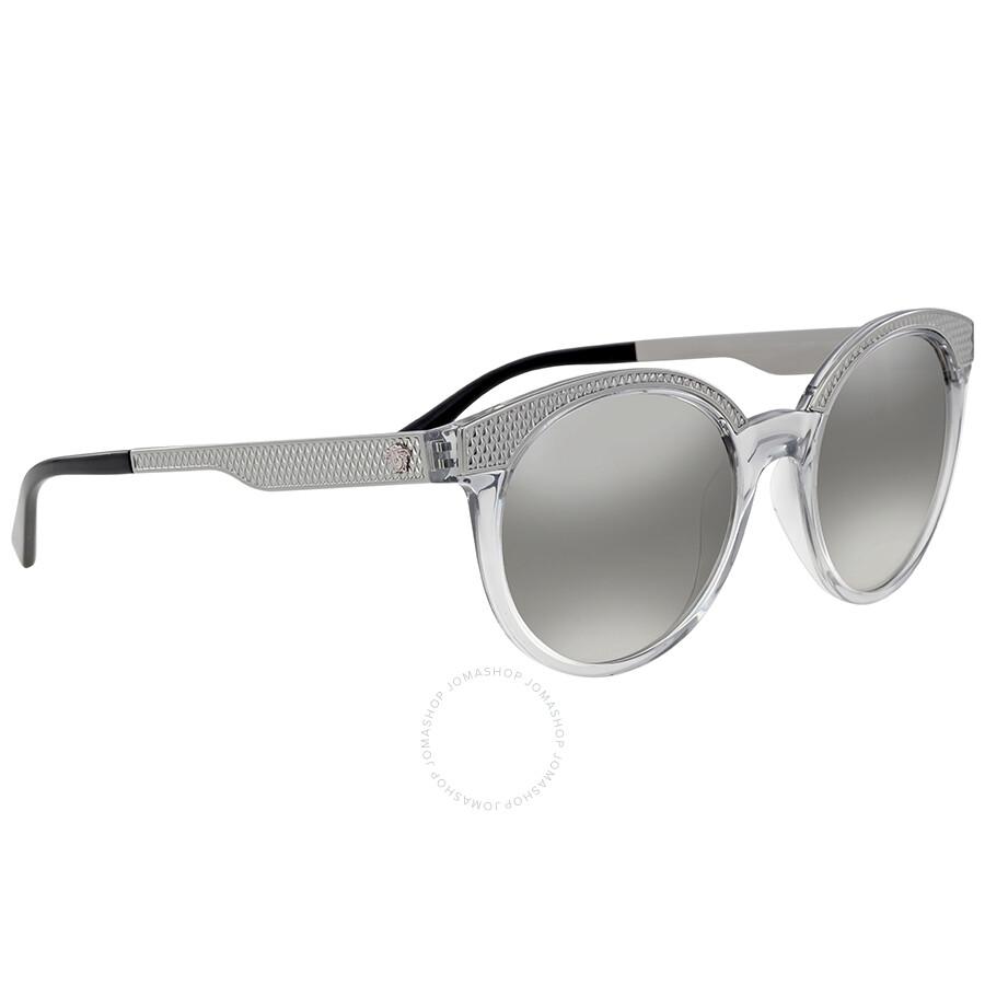 c4c4017c0cad Versace Light Grey Mirror Gradient Cat Eye Sunglasses - Versace ...