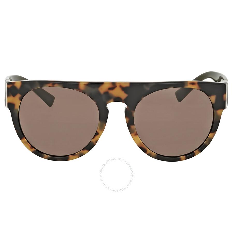 3d002c6a9d66 Versace Rectangular Havana Sunglasses - Versace - Sunglasses - Jomashop