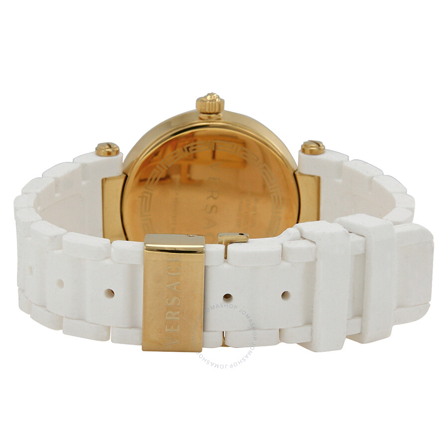 4bfefb230 ... Versace Reve White Mother of Pearl Dial White Ceramic Ladies Watch  92QCP11D497-S001 ...