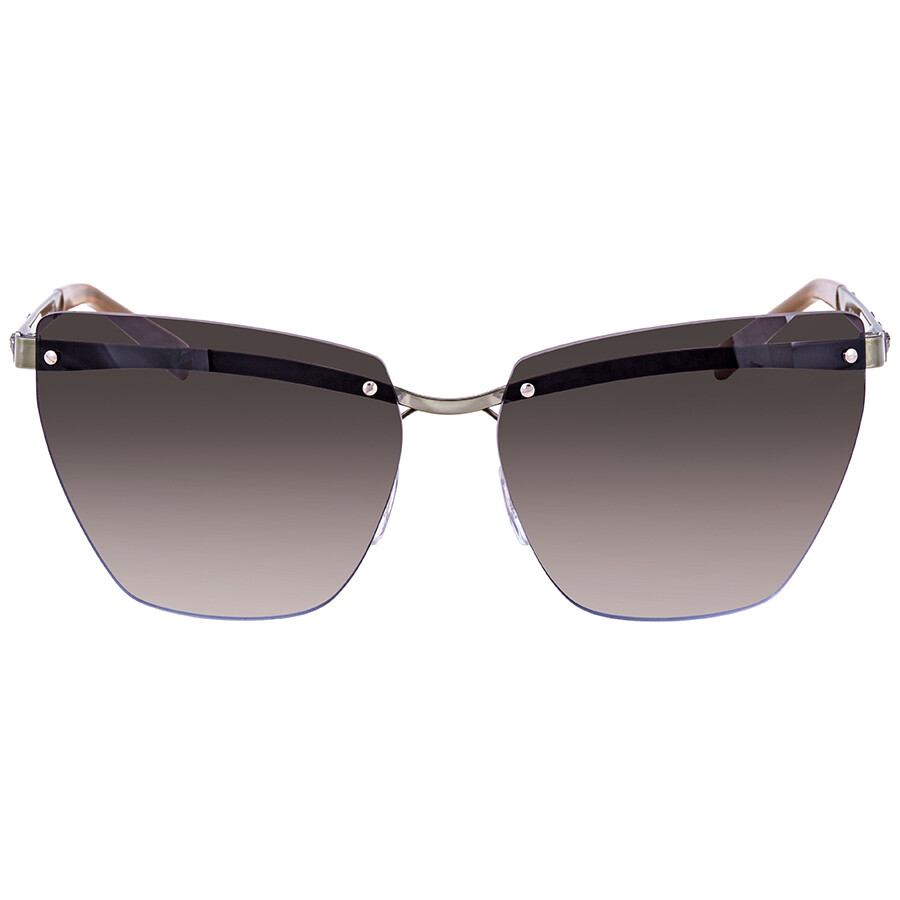 9ad3a04e465 ... Versace Violet Gradient Brown Mirror Silver Cat Eye Ladies Sunglasses  VE2190 142694 58 ...