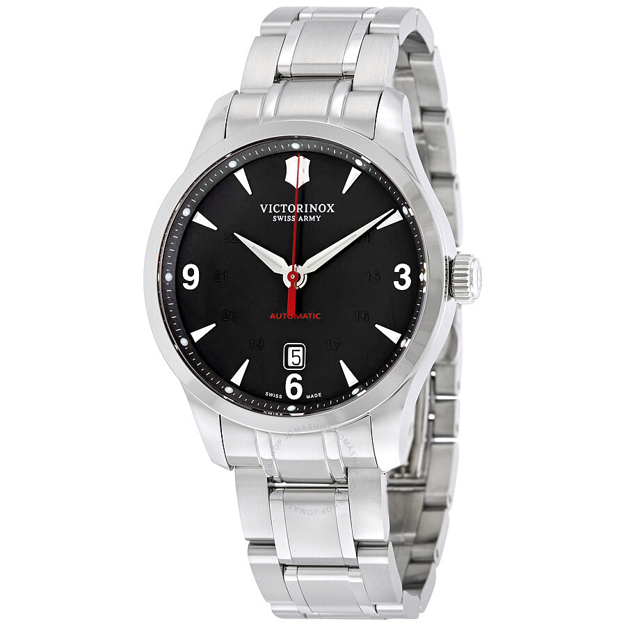 Victorinox alliance mechanical automatic black dial men 39 s watch 241669 alliance victorinox for Victorinox watches